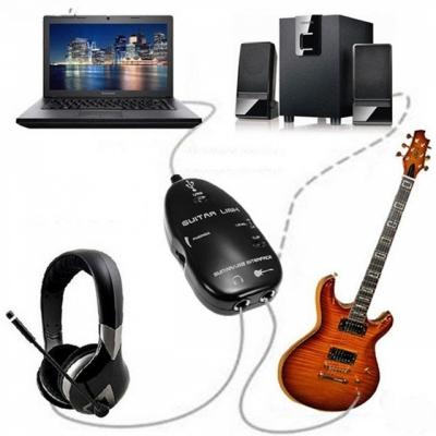 USB Guitar Link Sollee kết nối đàn guitar với máy tính