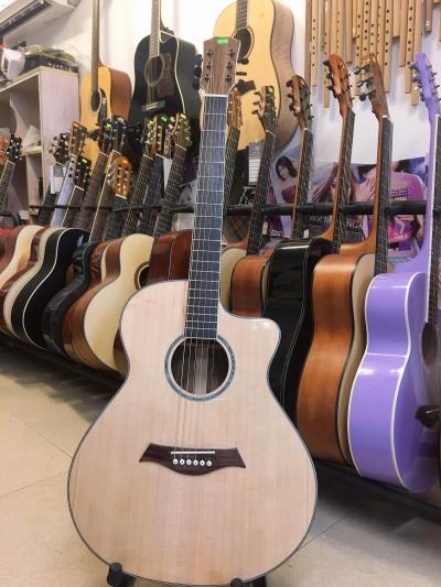Đàn Guitar Acoustic Dáng Khuyết