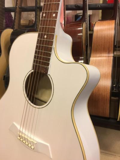 Đàn Guitar AC120 màu trắng