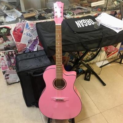 Đàn Guitar AC120 màu hồng