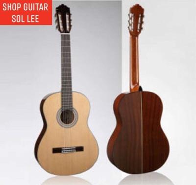 Đàn Guitar Classic Mặt Gỗ Vân Sam