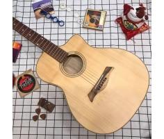 Đàn guitar acoustic VPP mặt gỗ