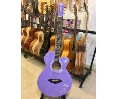 Đàn Guitar Acoustic Màu Tím