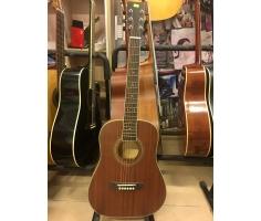 Đàn Guitar Acoustic Mini - Màu Gỗ Đậm