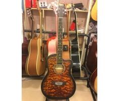Đàn Guitar Acoustic Màu Loang