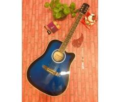 Đàn Guitar AC150 màu xanh