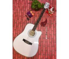 Đàn Guitar A150 màu trắng