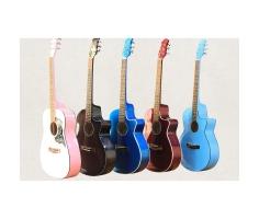Đàn Guitar Acoustic Nhiều Màu