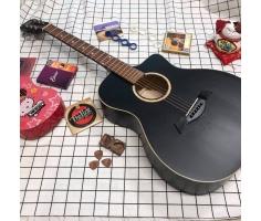 Đàn guitar acoustic VPP đen