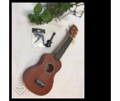 Đàn ukulele màu nâu