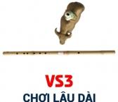 Sáo Ngang VS3 (Nguyên liệu Trúc)